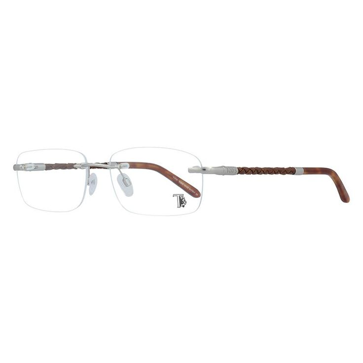 Tod's TO5063-1757 silver unisex glasses made with metal