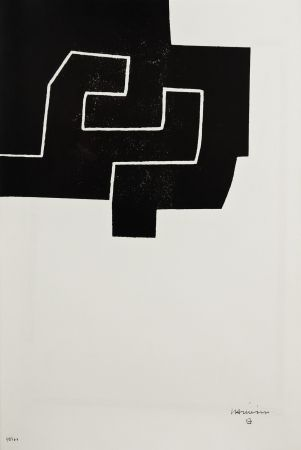 Lithograph - Eduardo Chillida - NANCY