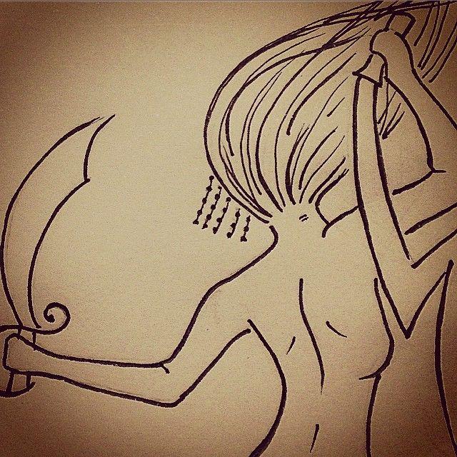 Iansã - Tatiana Alves Tattoo Designer @tatianaalves Instagram photos | Websta
