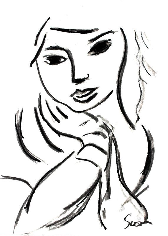 item dg1Portrait of a Young Woman - after Matisse