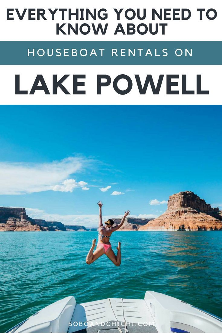 Your Complete Guide To Lake Powell Houseboat Rentals Lake
