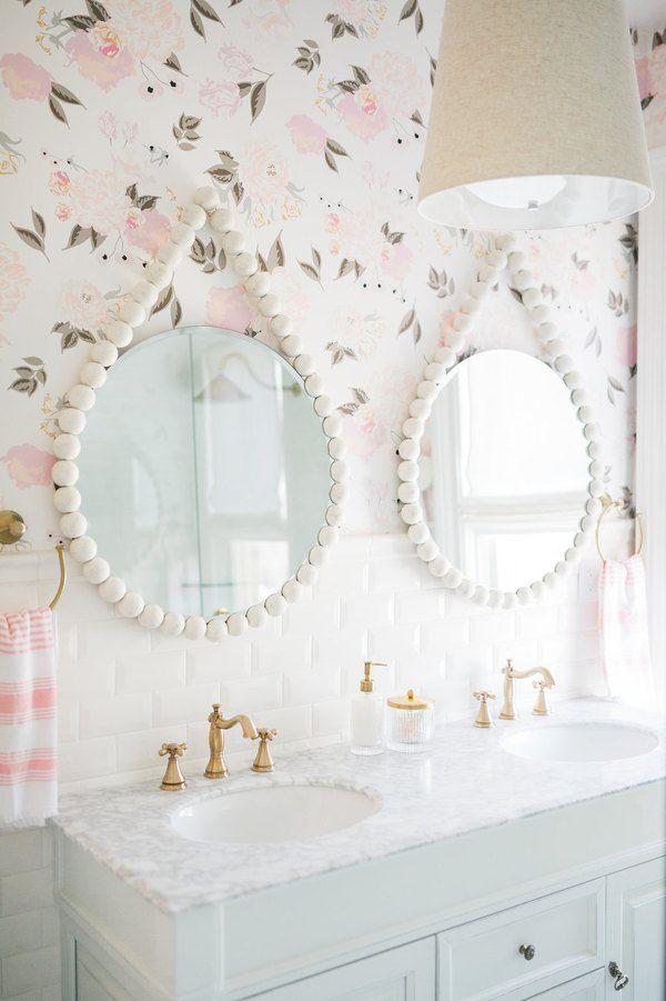 10 Bathroom Wallpaper Ideas That Ll Make Everyone Ask Where D You Get That Hunker Feminine Bathroom Shower Design Bathroom Wallpaper Modern wallpaper for bathrooms 10