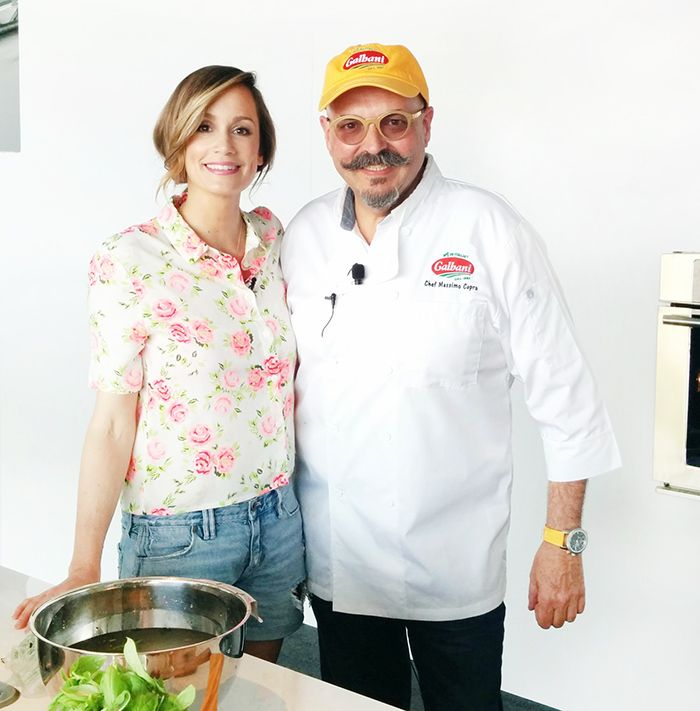 In this episode Top Chef Kitchen Time Savers, #KimDEon and celebrity chef, #Massimo #Capra are keeping it fresh!