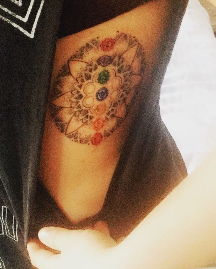 Heart Chakra Symbol Tattoo