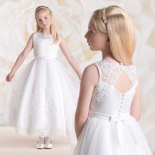 Lace holy communion dresses uk