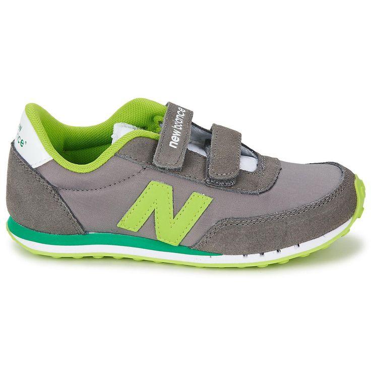 New Balance 410 Kid's Grey Green Ke410