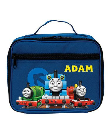 Look what I found on #zulily! All Aboard Thomas & Friends Personalized Lunch Bag #zulilyfinds