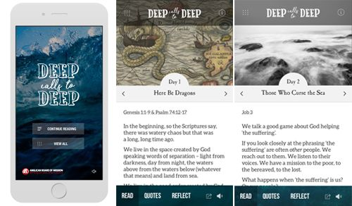 Deep Calls to Deep: Easter Journey - iOS