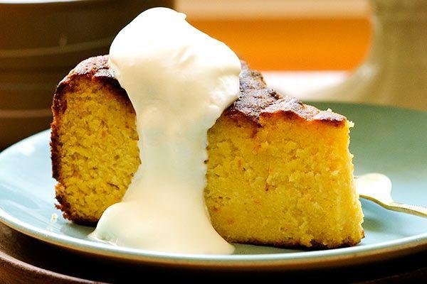 Gluten-free orange and passionfruit cake – Recipes – Bite