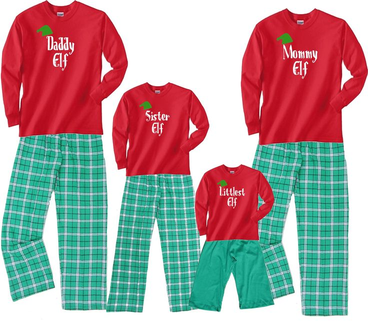 25 best matching christmas pajamas family outfits images for Funny matching family christmas pajamas