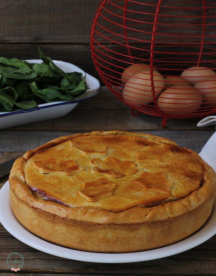 TORTA PASCUALINA - El jardín de mis recetas