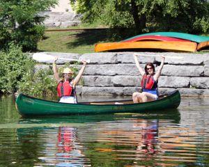 Summer fun at National Canoe Day