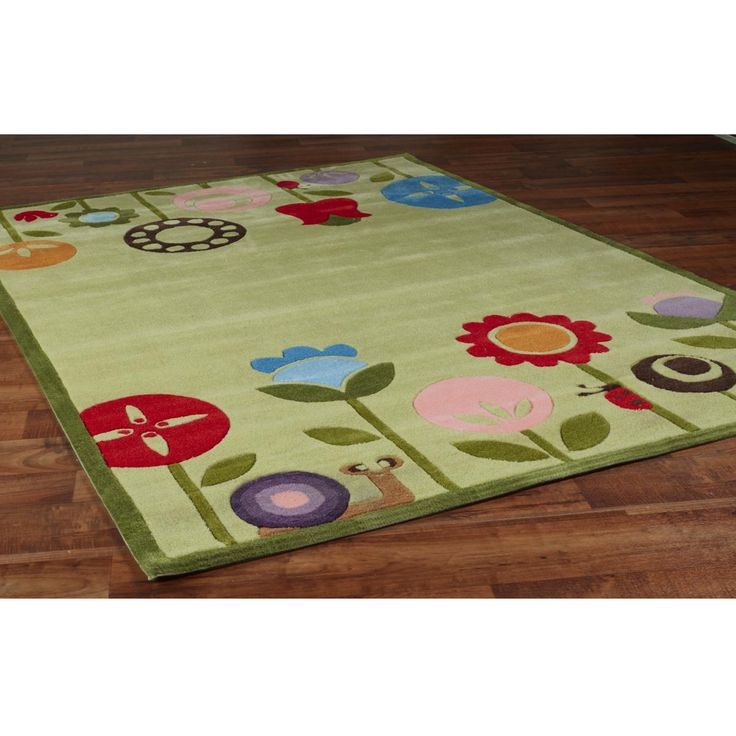 Whimsical Garden Fun Rug Oh This Is Freaking Awesome