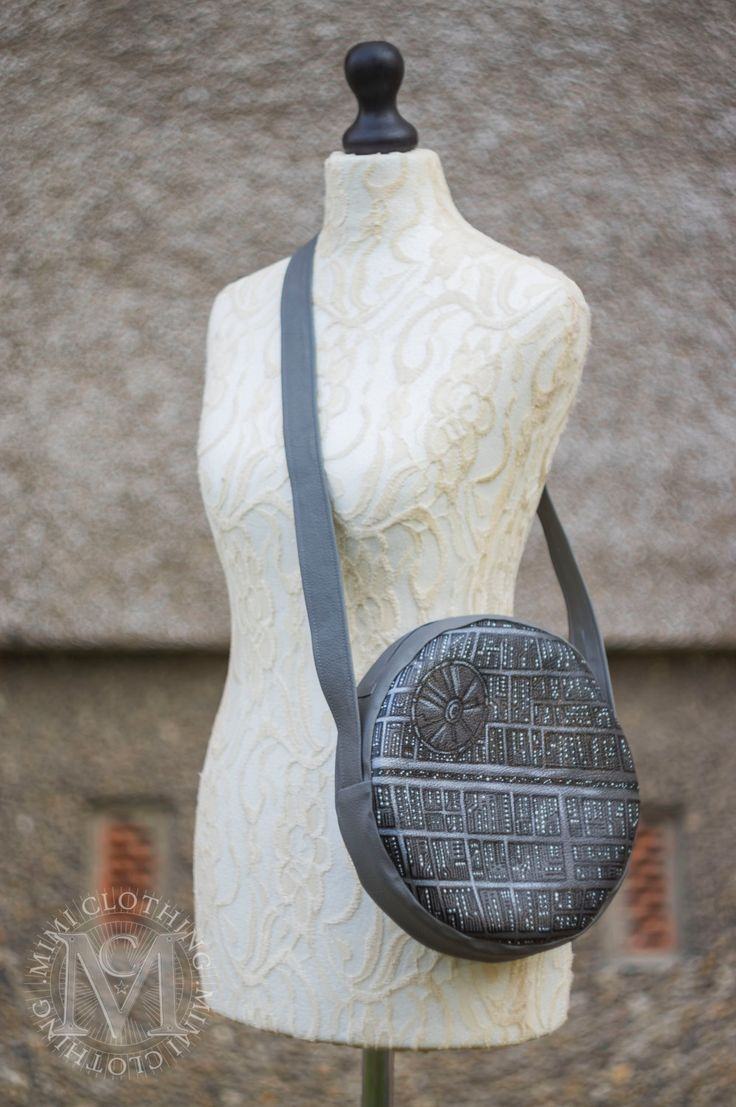 star wars - death star bag by themimiclothingshop on Etsy