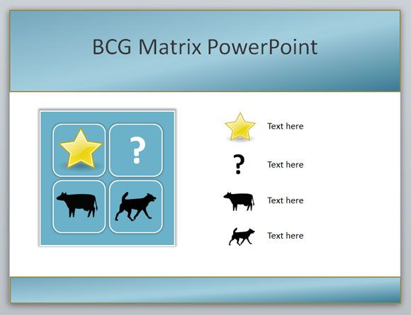 how to create a boston consulting group bcg matrix powerpoint, Powerpoint templates