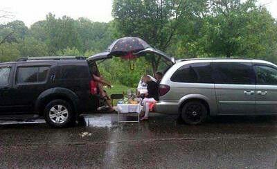 Buiten, picknick