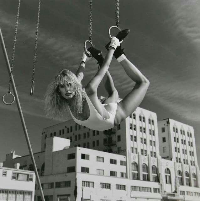 Daryl Hannah by Helmut Newton for Vanity Fair, Los Angeles, 1984