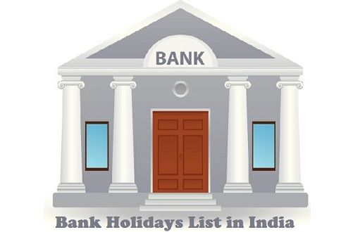 List of Bank Holidays in India 2016