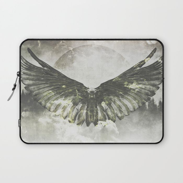 Wilderness in my heart Laptop Sleeve by HappyMelvin | Society6