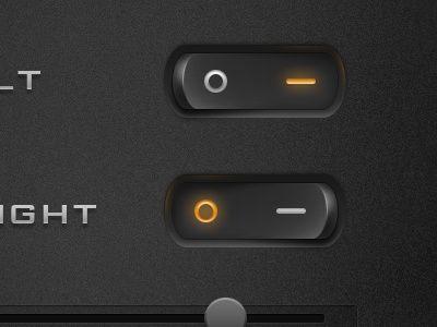 Interface design - Prachtige drukknoppen!