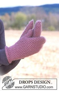 Crocheted mittens slip stitch design free pattern