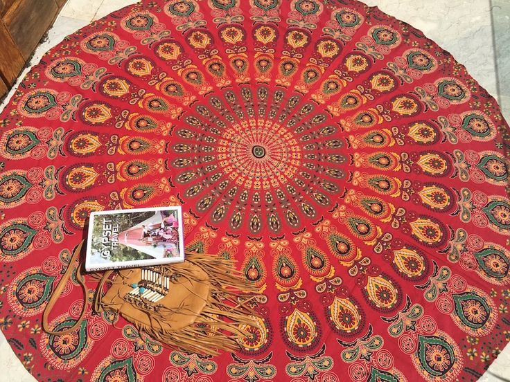 ☾❂☽  Roundie Passion Life Mandala ☾❂☽ www.thirteenblessings.bigcartel.com