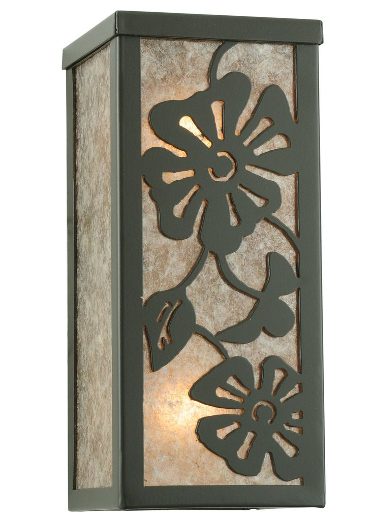 "Meyda 4.5""W Morning Glory Wall Sconce"