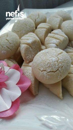 Pastene Usulü 3 Malzemeli Kurabiye(ağızda Dağılan)