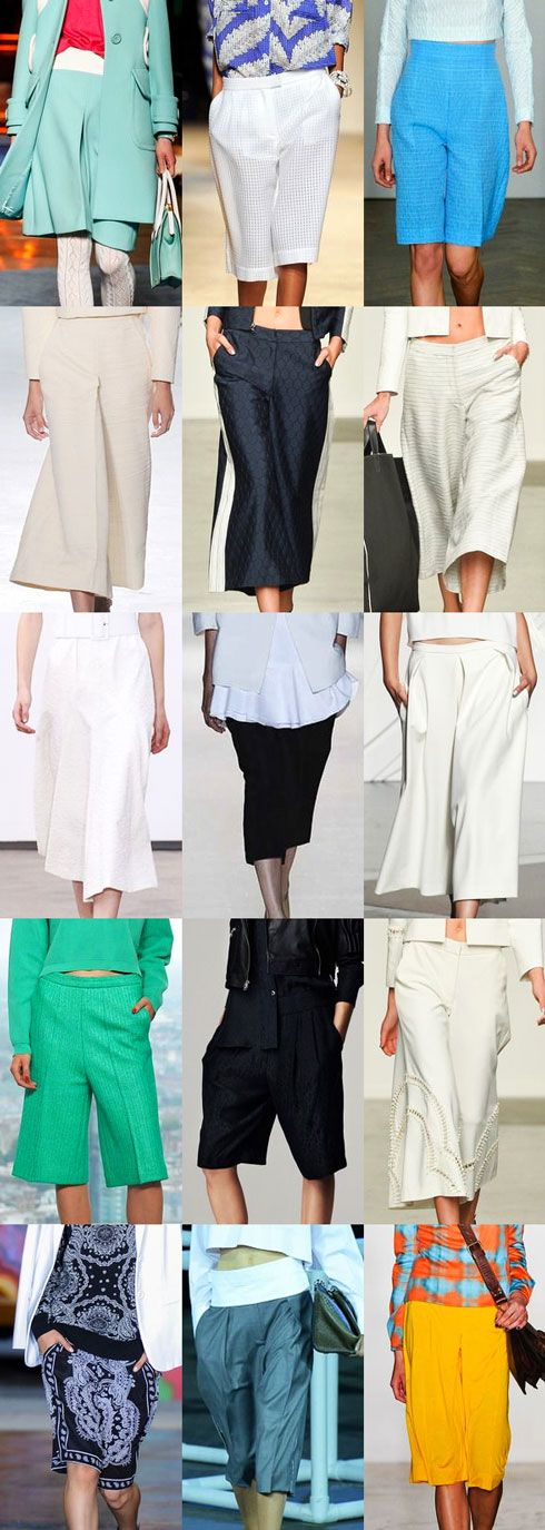 Culottes for Spring 2014 - YLF