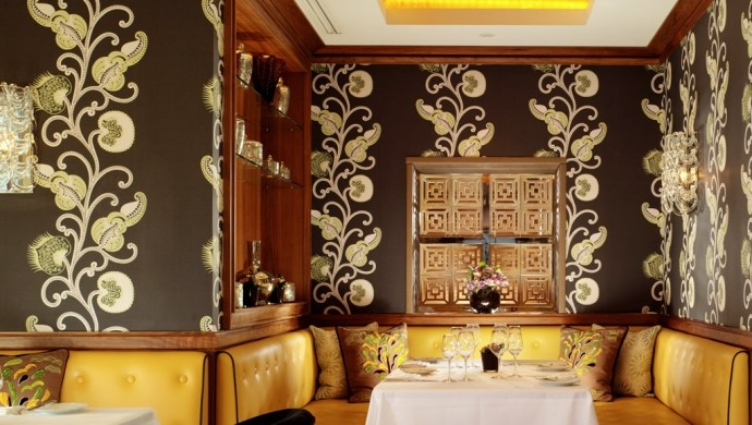 St. James's Hotel and Club: Chef William Drabble is at the helm of the Michelin-starred restaurant, Seven Park Place.