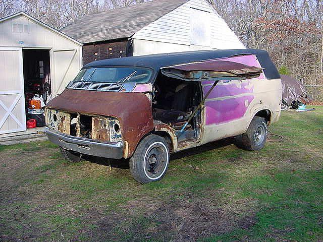 Dodge Conversion Van >> 1977 DODGE VAN barn find | Barn finds | Pinterest | Dodge van, Barn finds and Abandoned vehicles