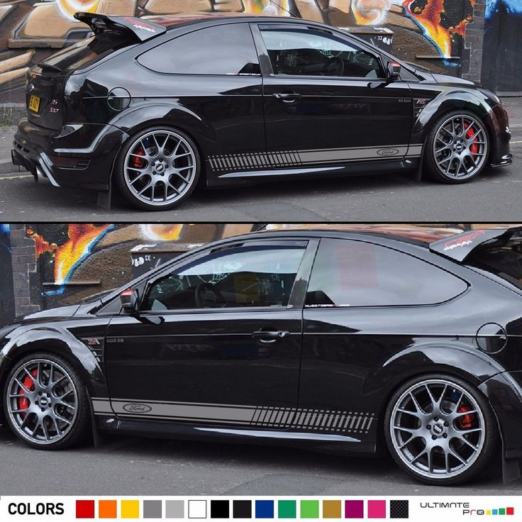 Best Carros Images On Pinterest Ford Focus Car And Focus Rs - Car decals designnew design full car body stickers for ford focus golf mg