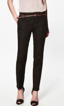 skinny black dress pants