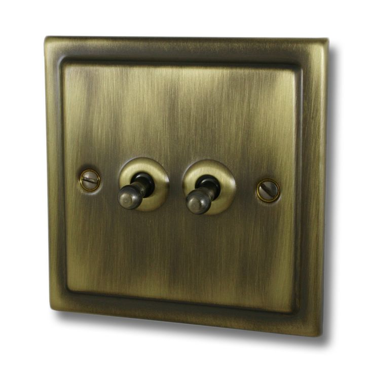 Antique Brass Switches & Sockets