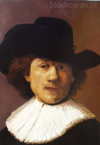 Rembrandt self portrait 1632 by Jean Elliot