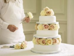 marzipan wedding cake | ... Press Centre A Wedding to Remember: Cakes by Waitrose Entertaining