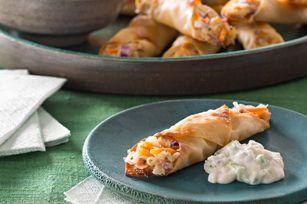 Minirollitos de pollo estilo Buffalo Receta - Comida Kraft