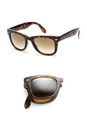 29b5dc77f ... shopping ray ban sunglasses women ray ban folding wayfarer in tortoise  finally got these again too