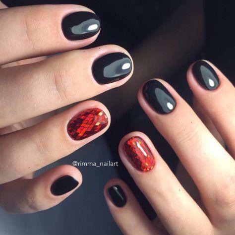 + 70 Gel polish nails Designs 2018 part III