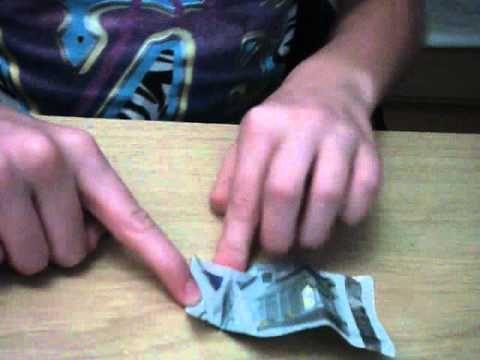 Vis vouwen met papieren geld - Hobby.blogo.nl