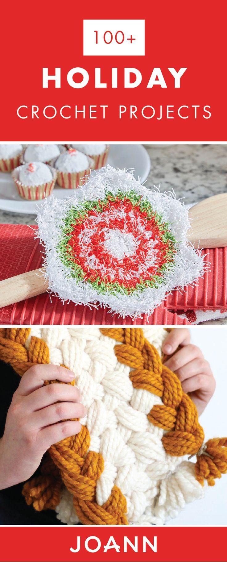 736 best Crochet with JOANN images on Pinterest | Crochet ... - photo #37
