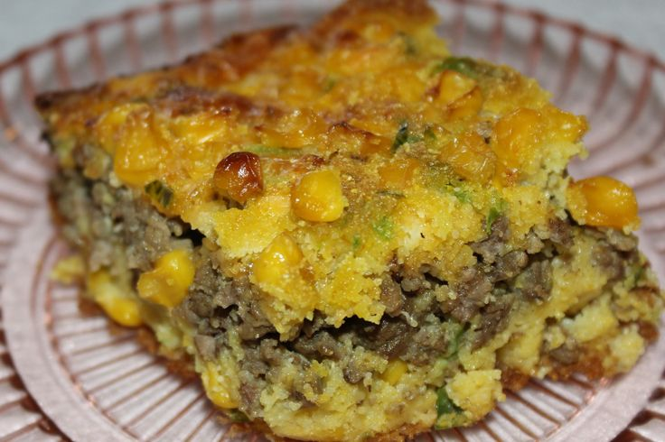 Ground Beef Jalapeno Cornbread Casserole Recipe I Am