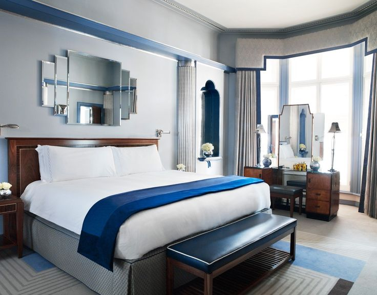 Claridge's Hotel, Art Deco Suites - #InteriorDesign #Claridges #LINLEY