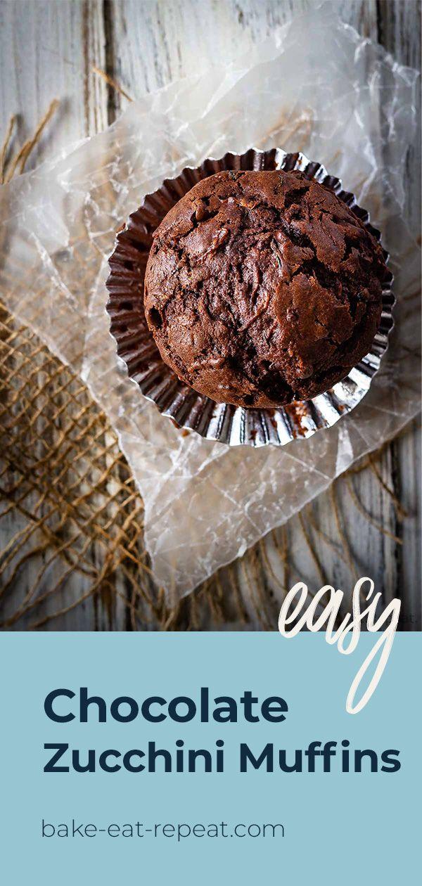 Chocolate Zucchini Muffins Recipe Recipe In 2020 Dessert Recipes Easy Chocolate Dessert Recipes Recipes