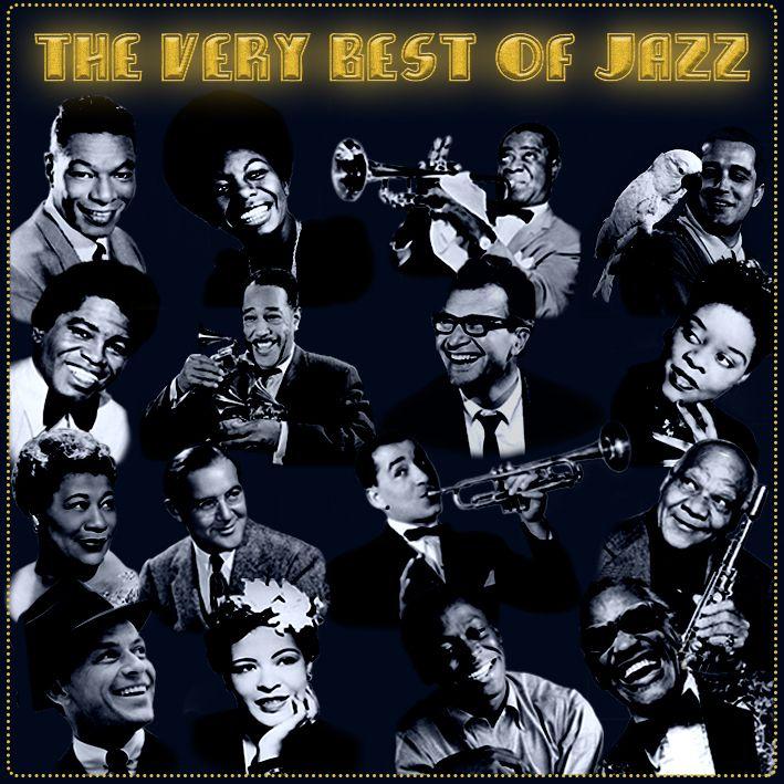 "Pochette album de jazz "" The very Best Of Jazz ""  G Musher GILLE"