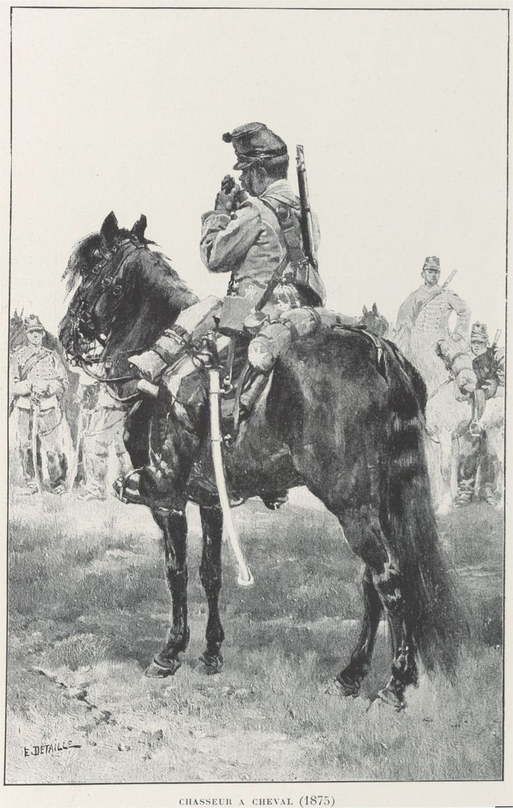 Chasseur a Cheval (1875)
