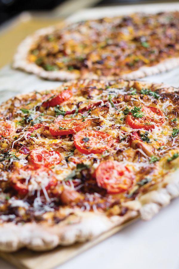 Chicken Tuscany Pizza recipe. #pizza #recipe