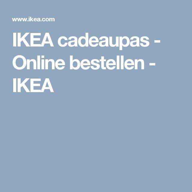IKEA cadeaupas - Online bestellen - IKEA