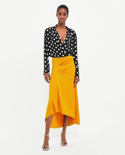 64bb4f5a Image 2 of POLKA DOT BODYSUIT from Zara | Mackenzie/Paige/Stylist ...