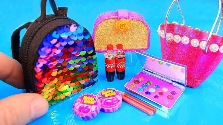 11 DIY Barbie hacks and crafts Eyeshadow palette, Sequin